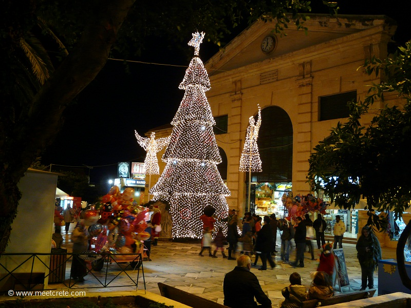 Christmas season in Crete