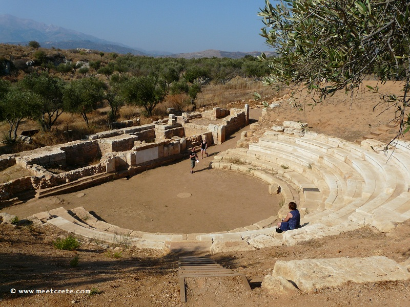 Ancient Aptera in west Crete